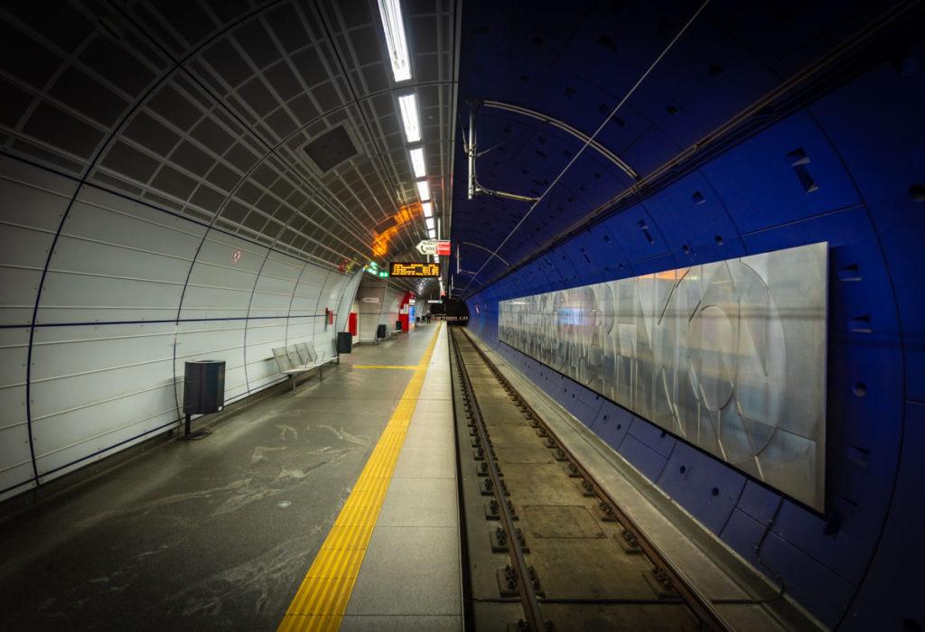 Tunnel du métro en Allemagne