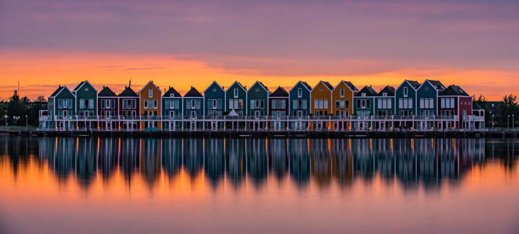 houten en hollande