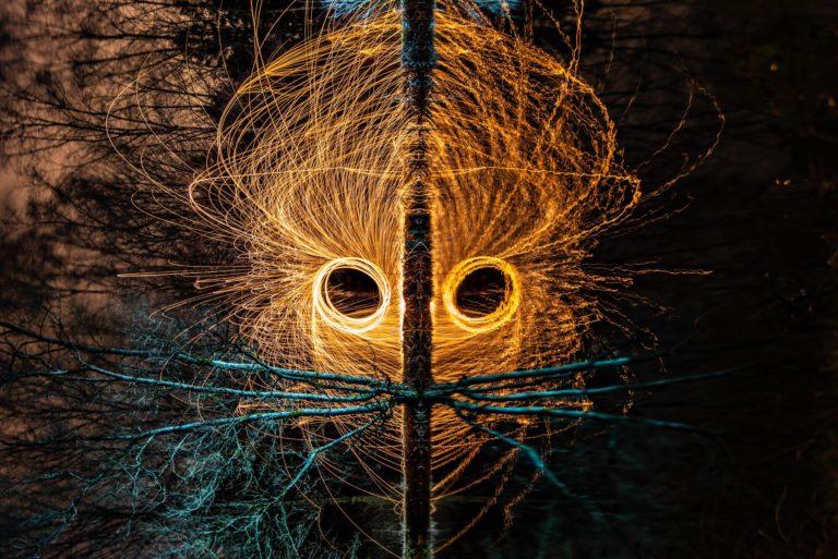 lightpainting artistique