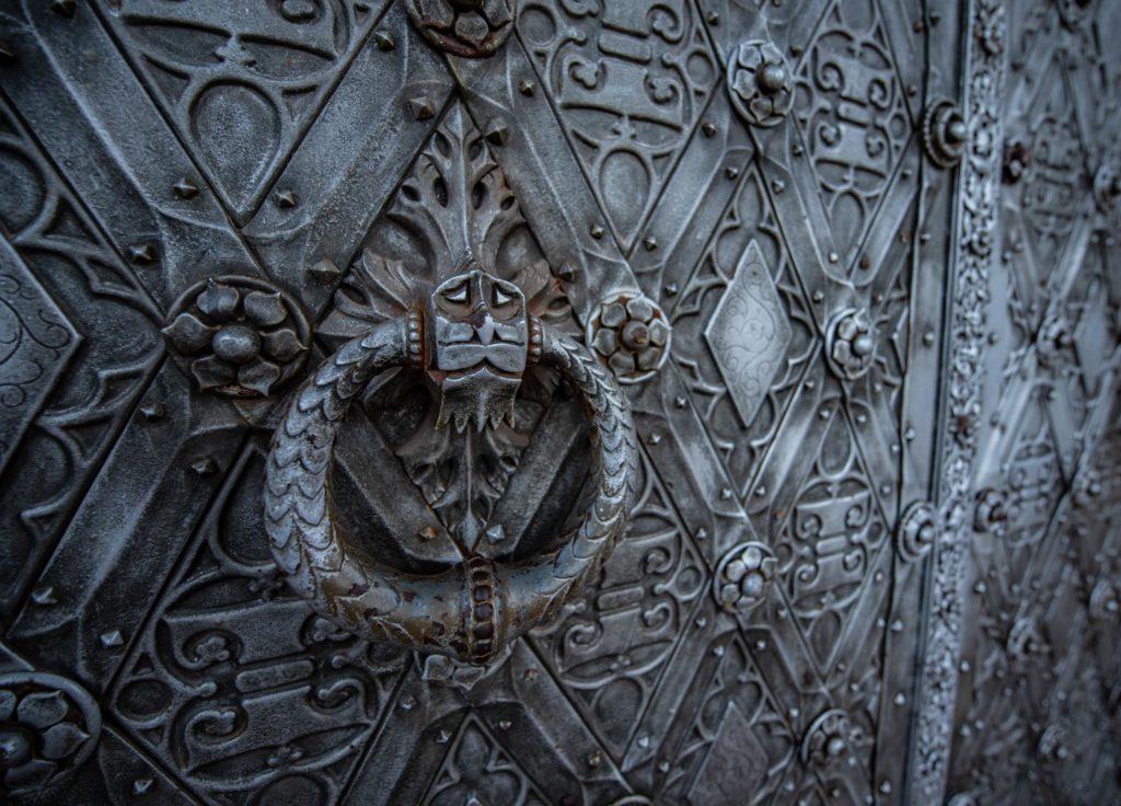 porte d entrée du chateau de haar en hollande