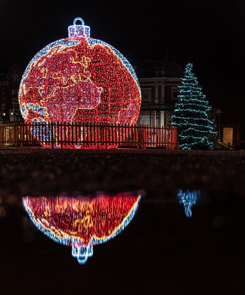 Spa et ces belles décorations de Noël