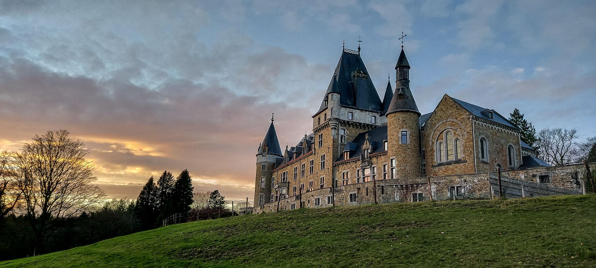 Château de Stoumont ,Samsung S 10 lite
